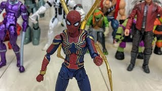 Железный человек паук, Звездный лорд, Антивеном, Черепашки ниндзя, Звезный лорд и другие