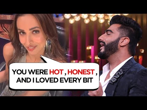 Malaika Arora REACTS On Arjun Kapoor Honest Confessions On Koffee With Karan Season 6