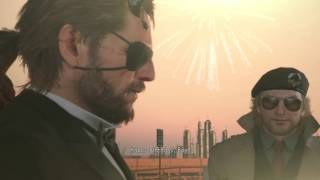 Metal Gear Solid V : TPP - Happy Birthday Cutscene (Japanese Voice)