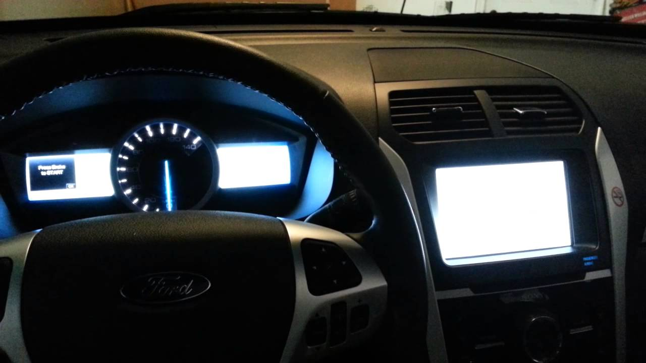 Awesome 2014 Ford Explorer Interior Tour   Driveru0027s Gauges U0026 Main Display   YouTube