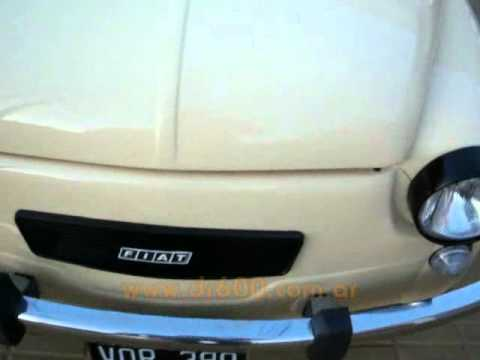 Otro Fiat 600 81 S Restaurado!