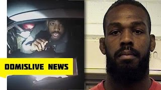 Jon Jones ABQ Police Bodycam Video Later Arrested, Drag Racing & Violating Probation Before UFC 197