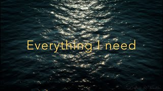 Everything I Need - Skylar Grey (lyric video) - Aquaman