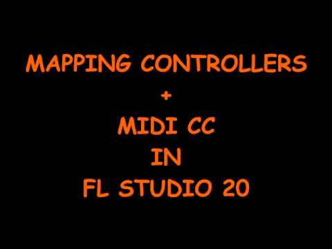 Mapping Controllers + Midi CC in FL Studio 20