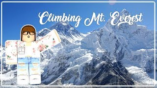 arrampicata Mt. Everest ~ ROBLOX