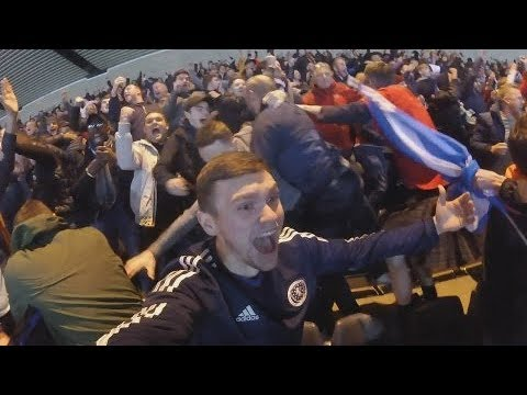 SCOTLAND vs SLOVAKIA! FAN FOOTAGE/HIGHLIGHTS!