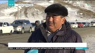 Шығыс Қазақстандағы Күршім ауданының тұрғындары мұз үстімен жүруге мәжбүр
