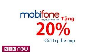Mobifone khuyến mại 20% nhân ngày 20/11