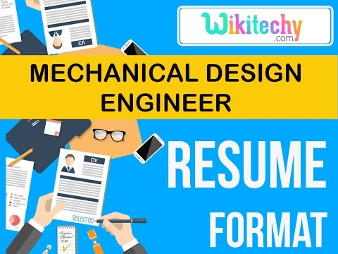 resume mechanical design engineer resume sample resume