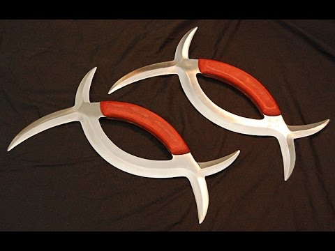 Exotic Weapon Deadly Sharp Blade Deer Horn Knives
