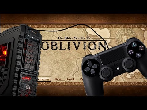 How to use a PS4/Xbox ONE/360 controller in Oblivion or a non controller supported game
