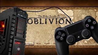 How Use Ps4 Xbox One Controller Oblivion Or Non Controller Supported Game