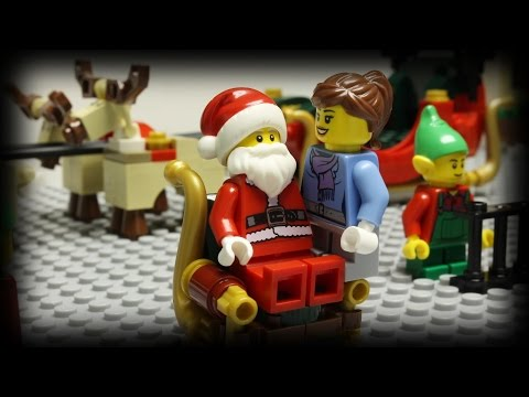 Christmas Santa Sleigh Rudolph Reindeer Lego Build Silly Play ...