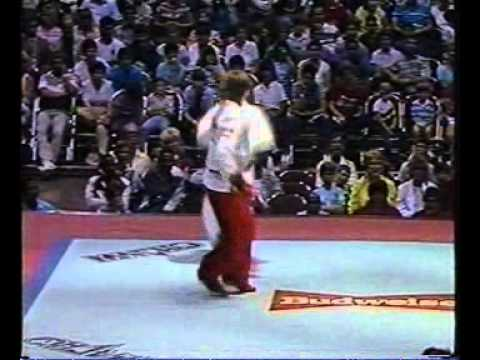 KARATE ROCK. 1980s MARTIAL ARTS VHS DOCUMENTARY