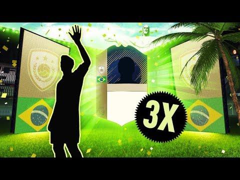 TRAFIŁEM 3 IKONY! NIESAMOWITY TRAF! GWARANTOWANE PACZKI Z IKONĄ! | FIFA 18