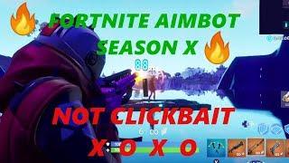 FORTNITE AIMBOT SEASON X MUST WATCH NOT CLICKBAIT(reset camera setting)