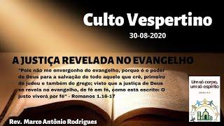 A Justiça Revelada no Evangelho - Romanos 1.16-17