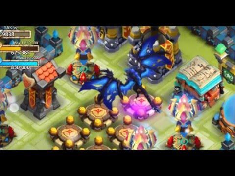 Castle Clash :  New Hero Arctica Game Play &  Castle Clash New Update 1.2.82