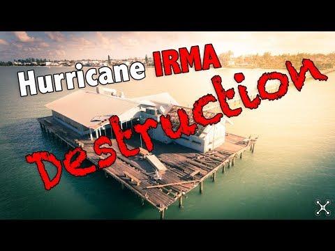 Post Hurricane Irma on Anna Maria Island - Florida