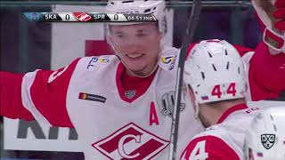 Spartak 3 SKA 1, 2 November 2017 Highlights