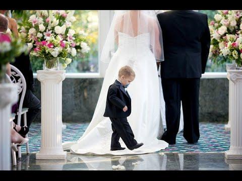 Дети на свадьбах