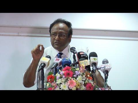 Former senior naval officer accuses Sri Lanka FM of 'treason'