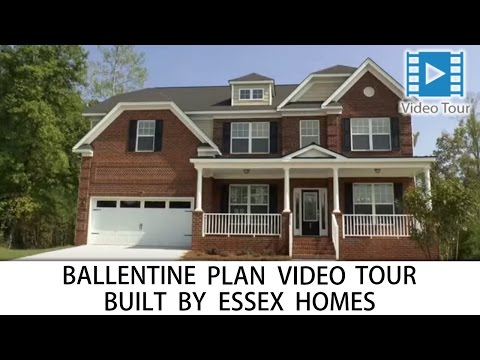 Ballentine floorplan with Basement built by Essex Homes in Columbia, Lexington and Irmo SC