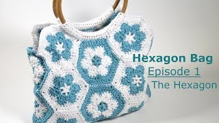 Spring 2018 - Hexagon Bag Episode 1 - Basic Hexagon This tutorial was an exclusive tutorial for my Spring 2018 crochet kit. As I no longer sell kits I thought it ...