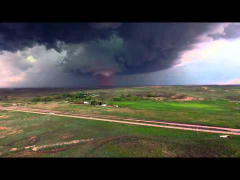 Drone Timelapse - Wray, CO Tornadoes - Phantom 4