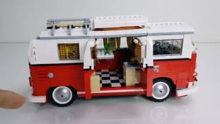 รีวิวเลโก้ สุดยอดรถแคมปิ้ง [Lego Volkswagen Camper]