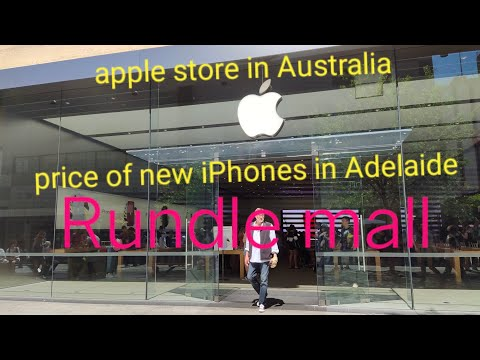 Apple Store In Australia ( Price Of New IPhones In Adelaide)