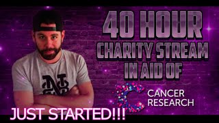 40 hour charity stream starts now http www twitch tv nick 28t