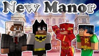 Minecraft Batman & Robin - Brand New Batcave! (minecraft Roleplay)