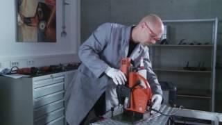 Kernbohren mit FEIN: Bohren in Riffelblech