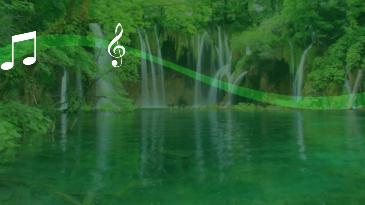 Falling Water Live Wallpaper Waterfall Sound Live Wallpaper Youtube