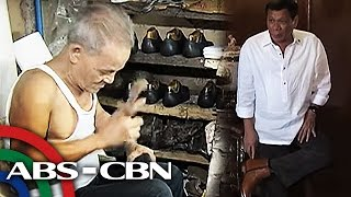 TV Patrol: Sapatero ng Marikina, bumida dahil kay Duterte