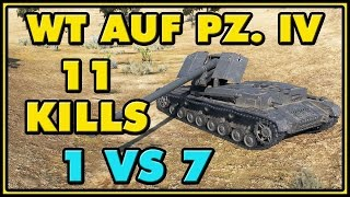 World of Tanks | WT auf Pz. IV - 11 Kills - 8.5K Damage
