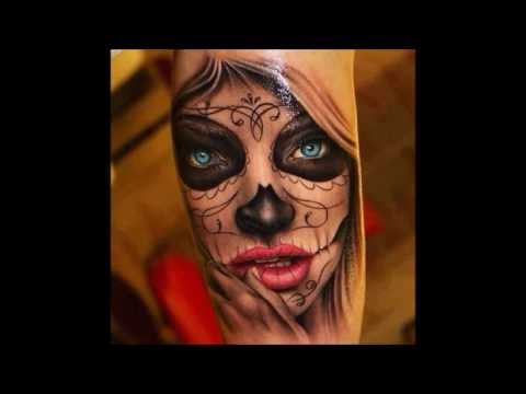Tattoos and Booze  Best of Day of the Dead  Tattoo Compilation