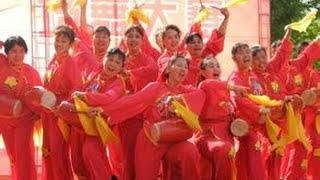 Tangshan City Lubei  Department of Cultural Affairs《Shadow puppets aerobics》 唐山市路北区文化局-《皮影健身操》