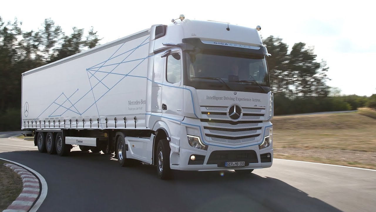 2019 Mercedes-Benz Actros | Driving Experience Linthe, Germany | Safety  Features, Interior