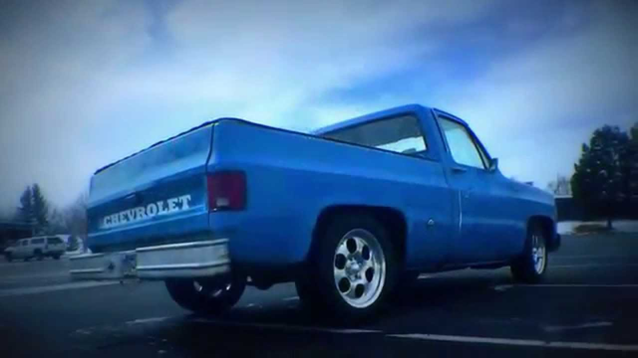 1975 C10 Chevy Shortbed Hotrod Truck Youtube