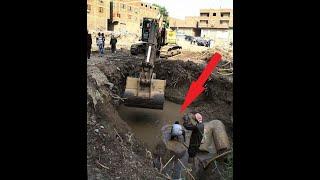 Экскаватор рыл яму и наткнулся на что-то твёрдое! Эта находка удивила весь мир!