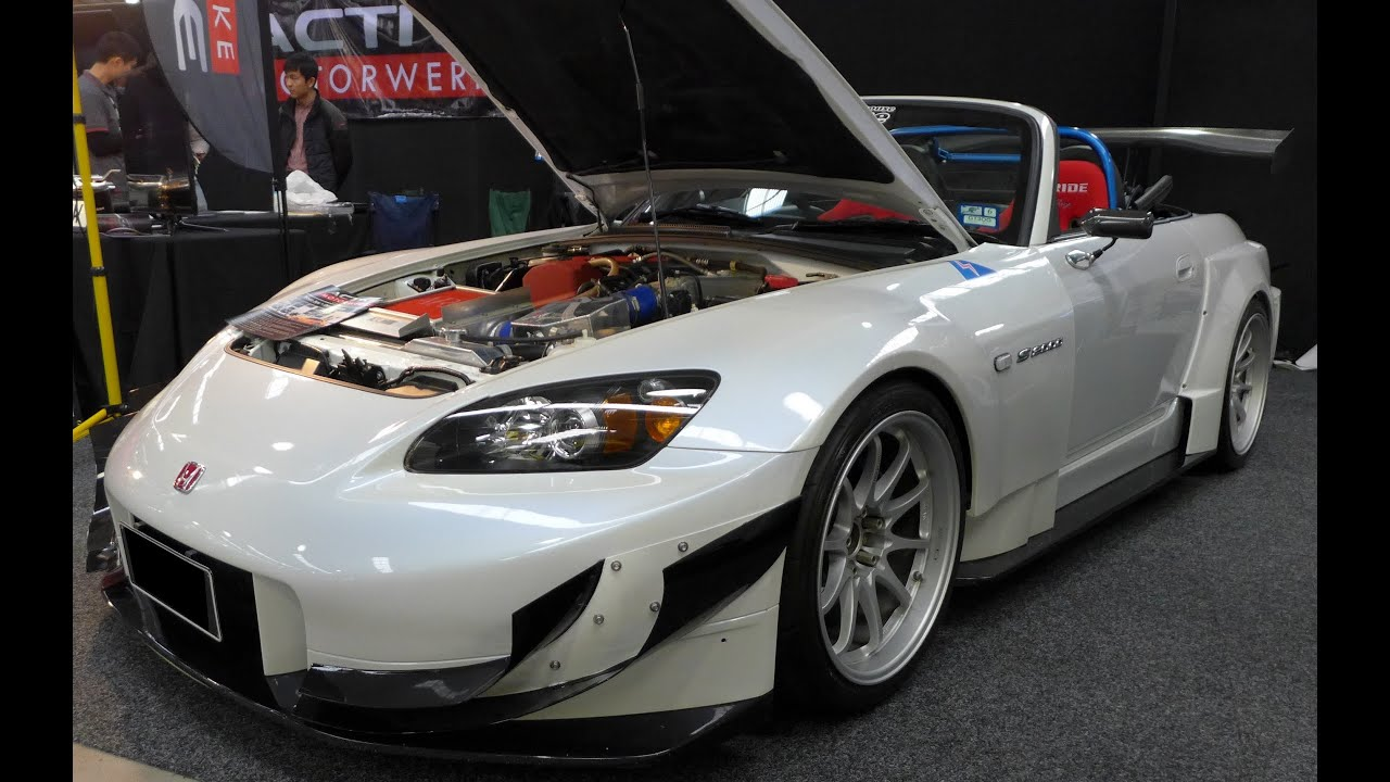 Modified Honda S2000 Ap2 Wide Body Kit And Volk Racing 18 Inch Wheels Youtube