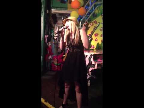 Tify Michaela Jones singing for her Dad's birthday. Mike