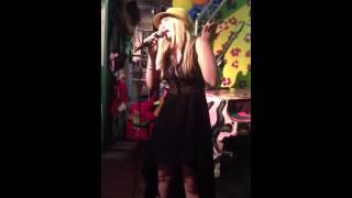 Tiffany Michaela Jones singing for her Dad's birthday. Mike