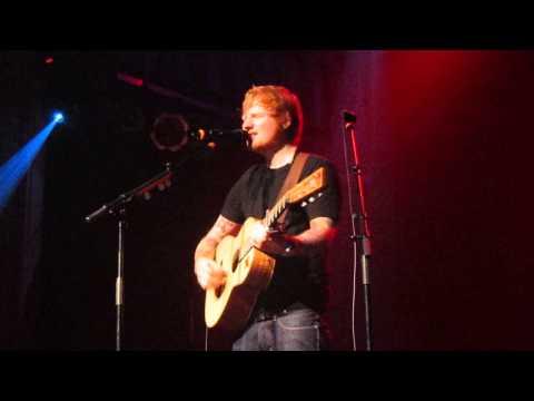 Ed Sheeran - I SEE FIRE - Live @Kulturkirche Köln / Cologne, 1LIVE radio gig