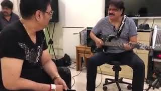 Kumar Sanu & Alka Yagnik with his fabulous band || Rehearsal for the show