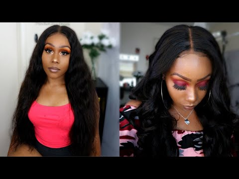 *NEW* Fake Scalp? Bomb Affordable Silk Base Brazilian Body Wave Lace Front Wig | Asteria Hair