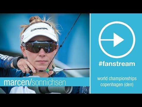#FanStream: Marcen vs Sonnichsen – Compound Women's 1R   Copenhagen 2015