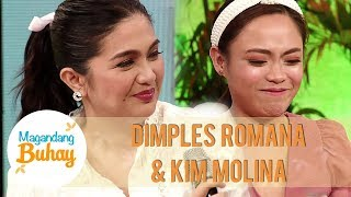 Kim gets emotional as she gives a birthday wish to Dimples | Magandang Buhay